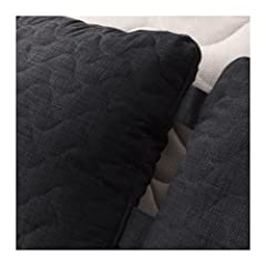 Product description Total composition/ Thread: 100 % polyester Cushion: Non-woven polypropylene, 50% cut polyurethane foam/ 50% polyester fibers Quilting: Polyester wadding People & Planet All the cotton in our products comes from more su...