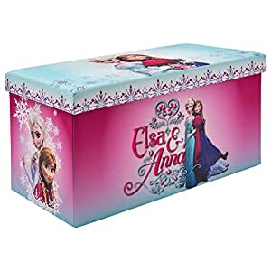 Frozen Elsa And Anna Storage Bench Ottoman And Toy Chest