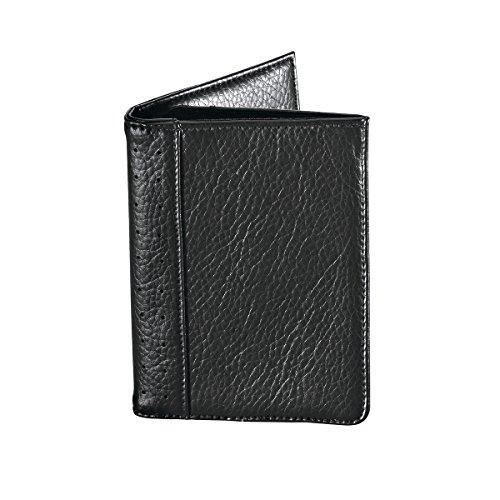 Travel Smart by Conair RFID Blocking Passport Holder Wallet, Black