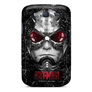 Bumper Hard Phone Case For Samsung Galaxy S3 With Provide Private Custom Trendy Ant Man Image RichardBingley