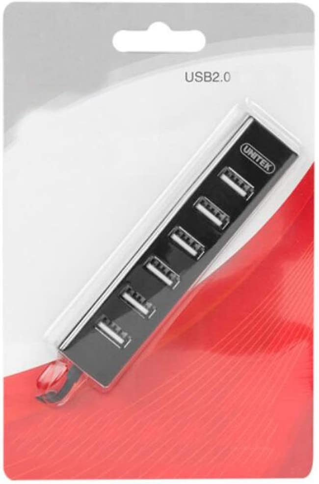 Color : Black, Size : 0.3 m USB Splitter 2.0 Line Length 0.3 M Durable Aishanghuayi Hub 7-Port HUB Expansion Hub