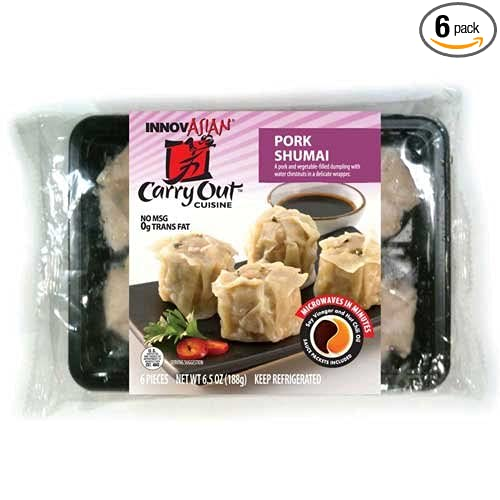 Innovasian Cuisine Dumpling Pork, 6.5 Ounce -- 6 per case.