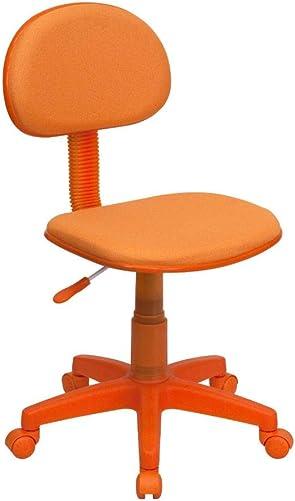 Flash Furniture Orange Fabric Swivel Task Office Chair