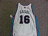 Pau Gasol Memphis Grizzlies White Game Jersey