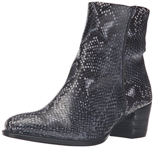 ECCO Women's Women's Shape 35 Boot Ankle Bootie, True Navy, 37 EU/6-6.5 M US (Reptile Bootie)