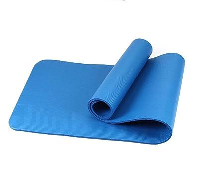 WYJW Colchonetas de Yoga, 10 mm Espesar Alargar Manta para ...