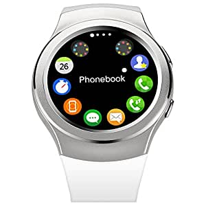 Austec G3 Smartwatch reloj Bluetooth Smart Watch para iPhone 6 / 6 Plus / 5S Samsung S6 Nota 4 HTC Android teléfono Smartphones Android desgaste