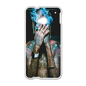 DIY Printed Wiz Khalifa hard plastic case skin cover For HTC One M7 SNQ062346
