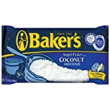 Baker's Angel Flake Coconut, 14-Ounce Bags (Pack of 6) by Baker's