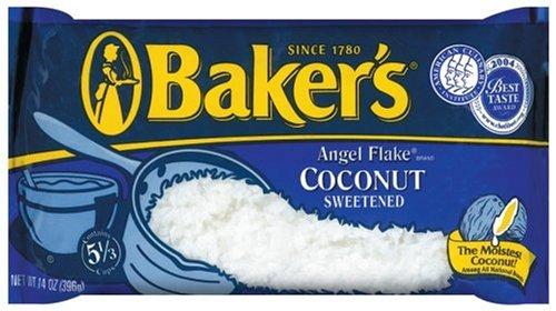 Baker's Angel Flake Sweetened Coconut (14 oz Bag)