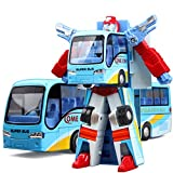 transformers car - Mallya Bus Change into Fighter Robot Action Figure Toy