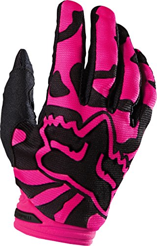 - Fox Racing 2016 Dirtpaw Women's MotoX Motorcycle Gloves - Black/Pink/X-Large