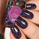 Amethyst - glitter holographic nail polish by Cupcake Polish