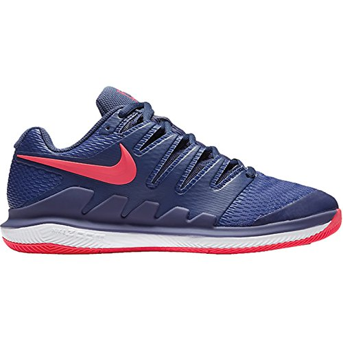 Nike Womens Zoom Vapor X Tennis Shoes (6.5 B(M) US, BLUE RECALL/RACER PINK-WHITE) (Cycling Shoes Womens Nike)