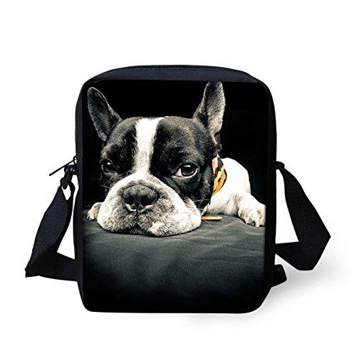 french bulldog messenger bag - 4