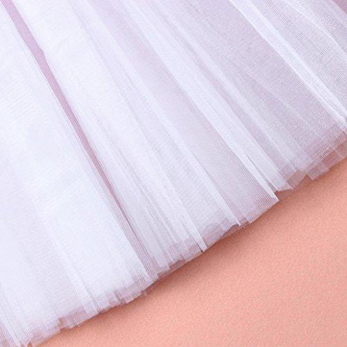 per adulti Pizzo Bianco da Ballerina per Balletto adulti Ballo Elecenty in danza Tutu Gonna Organza Gonna ZY0wWqag