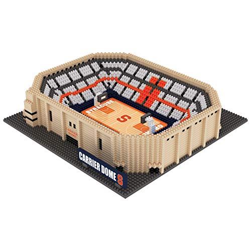 (FOCO NCAA Syracuse Orange 3D BRXLZ Basketball Arena Stadium Building Block Set3D BRXLZ Basketball Arena Stadium Building Block Set, Team Color, One Size)