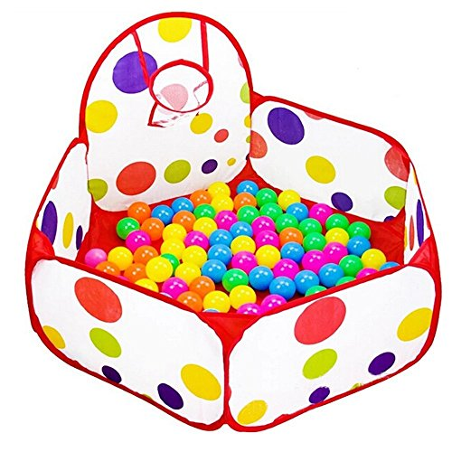 taotree beweglicher hexagon kinder baby b llebad ballpool pool b llepool drinnen und drau en. Black Bedroom Furniture Sets. Home Design Ideas