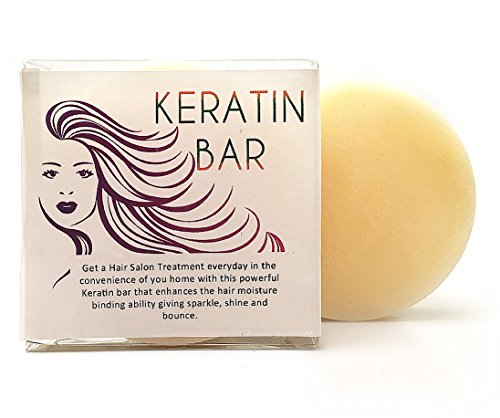 Keratin Treatment In a Bar, Intense Hair Conditioner, 4 Ounces