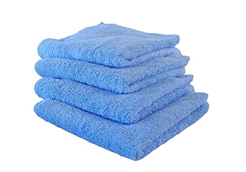 Microfiber Drying Towels, Cleaning Cloth for Wet or Waterless Wash