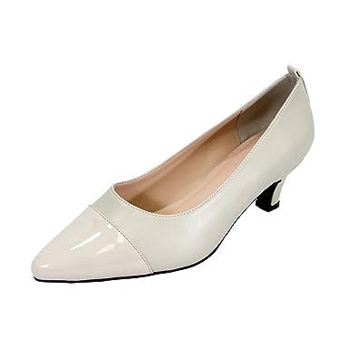 305367a296a Peerage Arlene Women Extra Wide Width Dress Shoes Beige 7