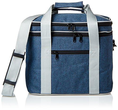 Blue Oilcloth Bag - 9