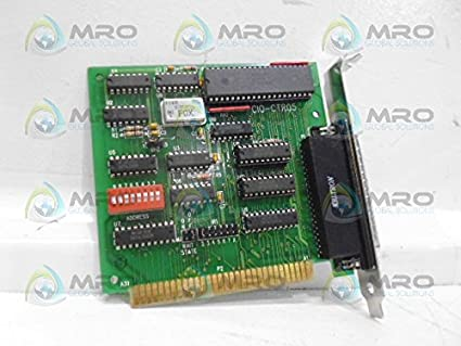computer boards inc cio ctr05 timer cardused amazon com industrial