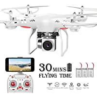 Benyi WiFi 720P Wide-Angle HD Camera Live Video RC Quadcopter