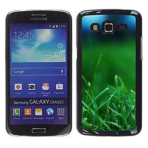 TopCaseStore / la caja del caucho duro de la cubierta de protección de la piel - Plant Nature Forrest Flower 37 - Samsung Galaxy Grand 2 SM-G7102 SM-G7105