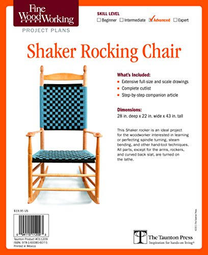 Rocking Chair Plan - 8
