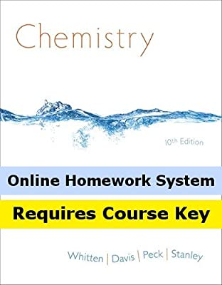 OWLv2 for Whitten/Davis/Peck/Stanley's Chemistry, 10th Edition