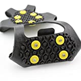 ODIER Shoe Ice Grippers Ourdoor Ice Cleats fit All