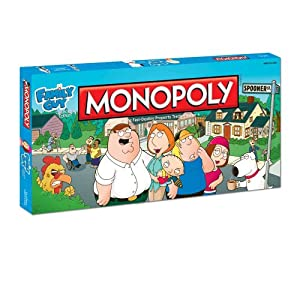Monopoly Family Guy from USAOPOLY, Inc