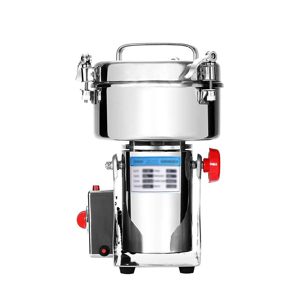 2000g Electric Grain Grinder, Commercial Mill Powder Machine Swing Type Dry Cereals Grain Mixer Mill for Herb Grinding kitchenaid Grain Pulverizer 3600W