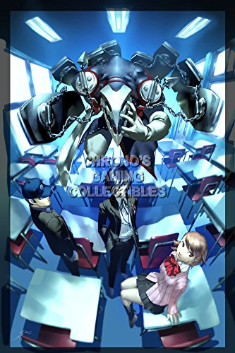 Persona CGC Huge Poster Glossy Finish 3 PS2 PSP - PER309 (24