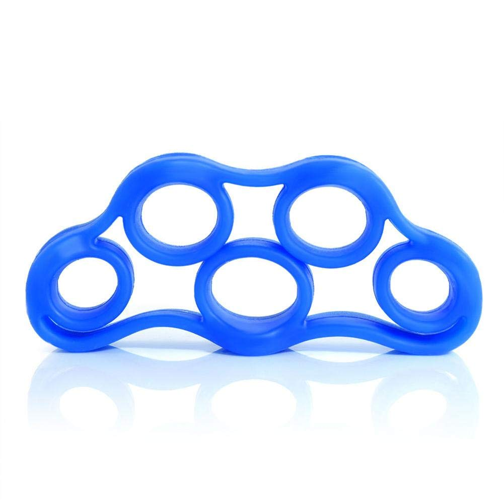 iShine New Silicone Fingers Tension Motor Fingers Toy Exercise Trainer Fingers Pull Ring
