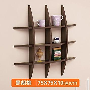 Kreative Wand Trennwand Wohnzimmer TV Wand Dekoration Wand, 75 * 75 * 10 Cm