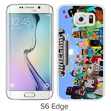 new styles c6c48 1d4af Hot Sell Design Minecraft 5 White Special Custom Made Samsung Galaxy ...