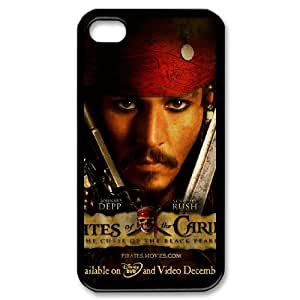 Pirates of the Caribbean For iPhone 4,4S Csae protection phone Case ST124513
