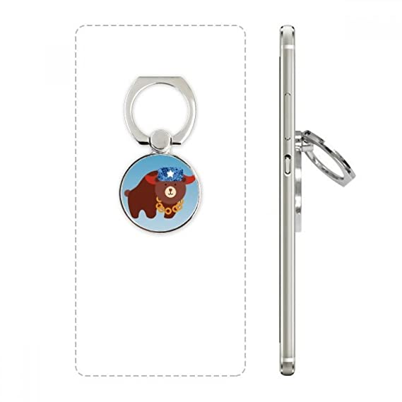 Amazon Russia National Symbol Bear Pattern Cell Phone Ring
