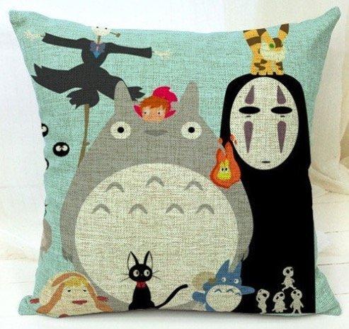 Spirited Away My Neighbor Totoro Family Kids Cartoon Massage