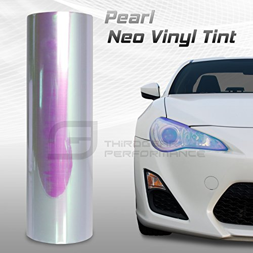 Chameleon Neo Chrome Headlight Fog Light Taillight Vinyl Tint Film - Pearl - 12x360 In 1x30 Ft