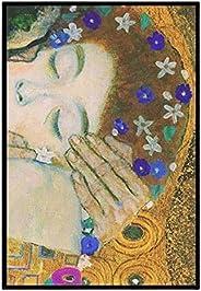 GZSBYJSWZ El Beso De Gustav Klimt Impresiones En Lienzo Reproducciones De Pinturas En Lienzo Impresiones Artís
