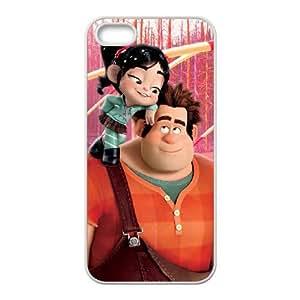iPhone 5 5s Cell Phone Case White Disney Wreck It Ralph Character Vanellope von Schweetz Sbupo