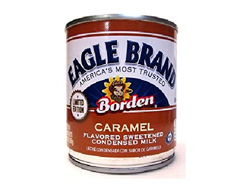 Eagle Brand Limited Edition Caramel Flavored Sweetened Condensed Milk (2 Pack) 14 oz Cans