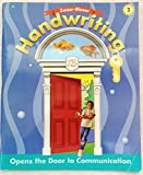 img - for Zaner-Bloser Handwriting: Opens the Door To Communication Grade 3 by Clinton S. Hackney (2003-01-01) book / textbook / text book