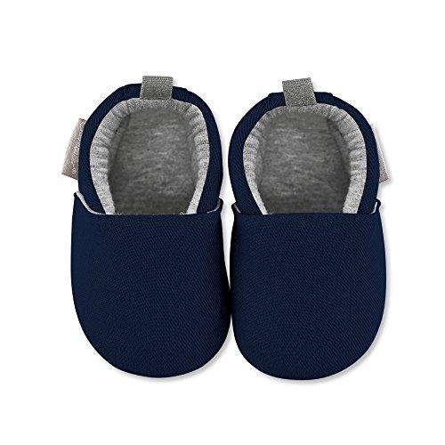 Sterntaler Baby Jungen Krabbel-& Hausschuhe Blau (Marine 300)
