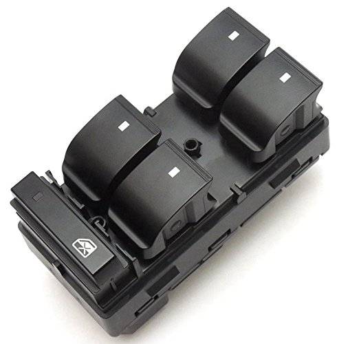 Silverado GMC Sierra Power Window Master Control Switch for Chevy Traverse Yukon Hhr Buick Enclave Front Left 25789692