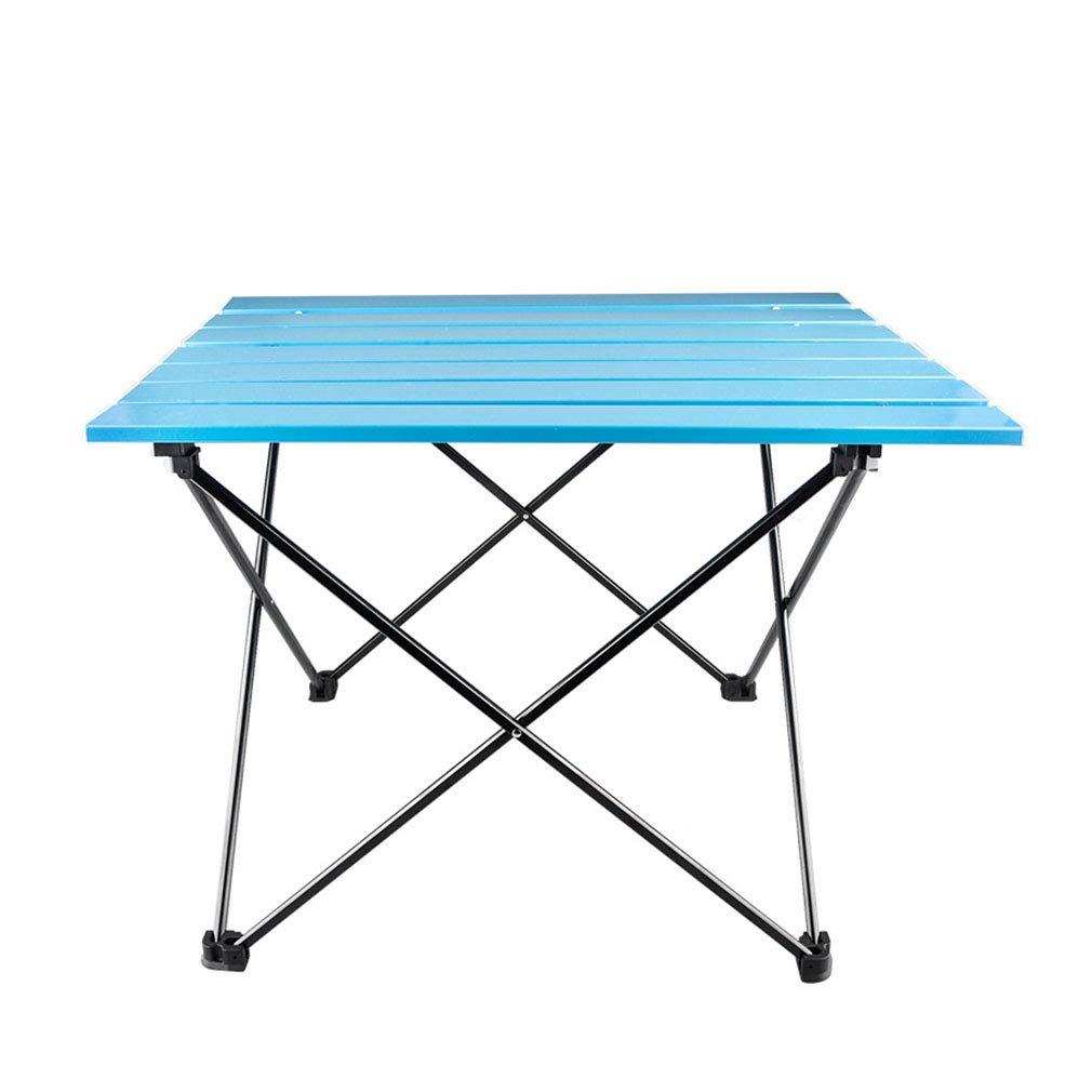 XUE-BAI Multifunktionale Freizeit Klapptisch aluminiumlegierung Outdoor klapp Freizeit Tisch Camping Tisch Angeln Tisch 55  40,5  40,5 cm