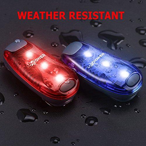 safety light 4 pack for runners bikes dogs kids boats best led lights. Black Bedroom Furniture Sets. Home Design Ideas